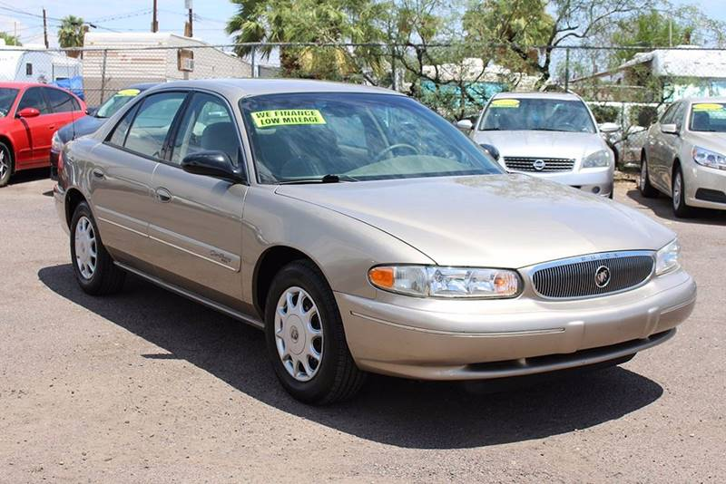2001 BUICK CENTURY CUSTOM 4DR SEDAN gold financing available all prices are subject to tax titl
