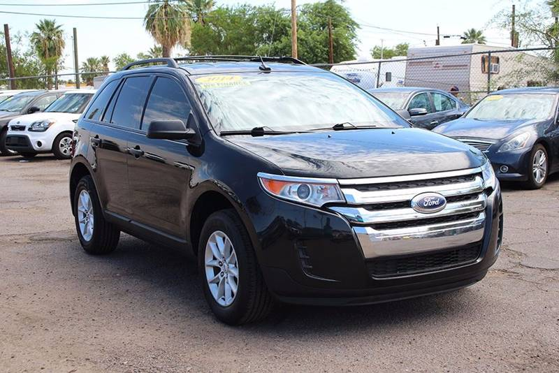 2014 FORD EDGE SE 4DR CROSSOVER black financing available all prices are subject to tax title
