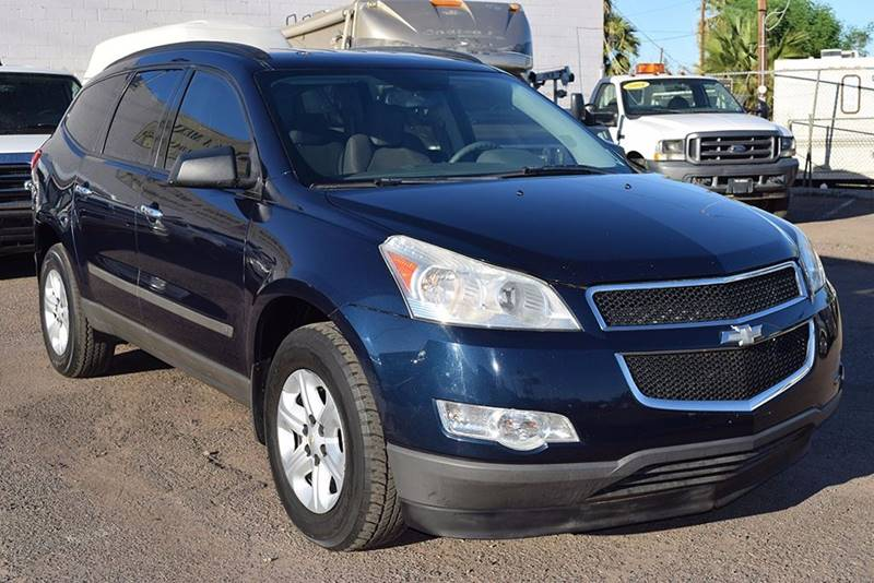 2010 CHEVROLET TRAVERSE LS 4DR SUV blue financing available all prices are subject to tax title