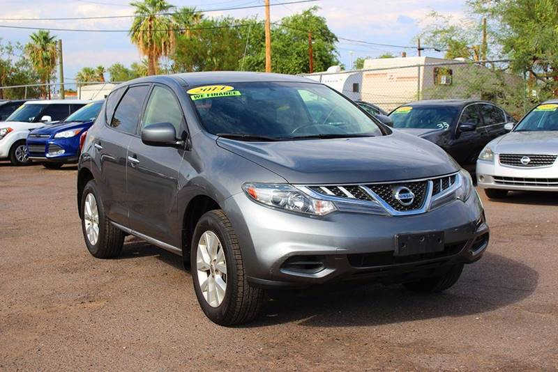2014 NISSAN MURANO SL 4DR SUV gray financing available all prices are subject to tax title reg