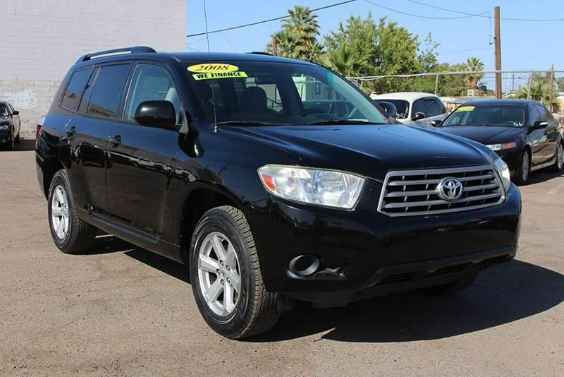 2008 TOYOTA HIGHLANDER BASE 4DR SUV black come down to discount auto sales and look at this 2008