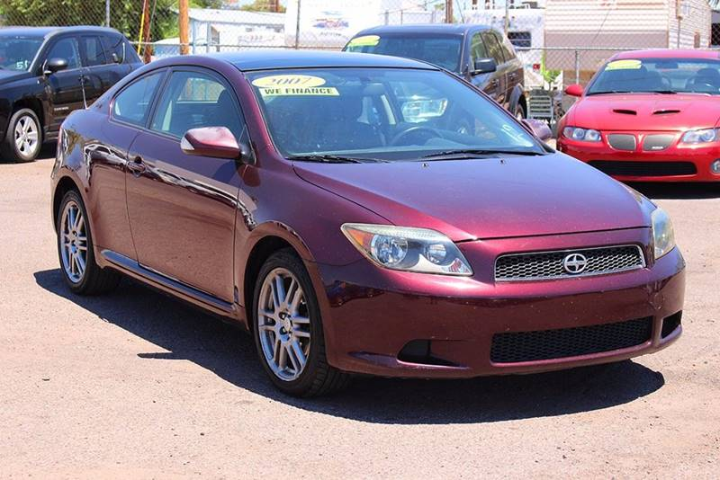 2007 SCION TC BASE 2DR HATCHBACK 24L I4 4A purple financing available all prices are subject