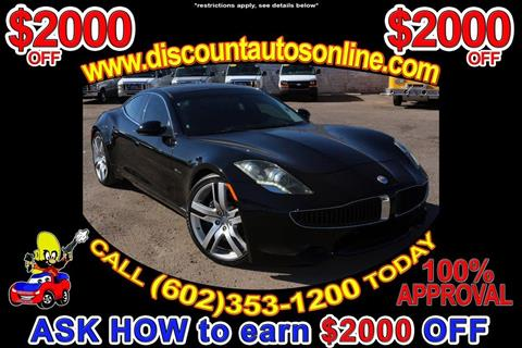 2012 Fisker Karma for sale in Phoenix, AZ