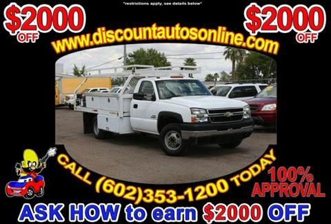 2007 Chevrolet Silverado 3500 CC Classic for sale in Phoenix, AZ
