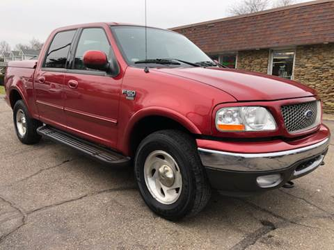 2003 Ford F-150 for sale at Approved Motors in Dillonvale OH