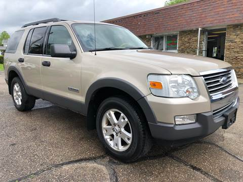 2006 Ford Explorer for sale at Approved Motors in Dillonvale OH