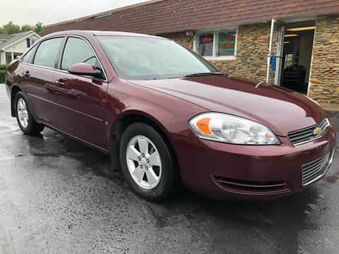 2007 Chevrolet Impala for sale at Approved Motors in Dillonvale OH