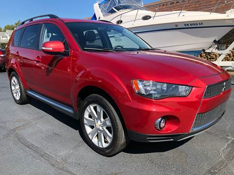 2010 Mitsubishi Outlander for sale at Approved Motors in Dillonvale OH