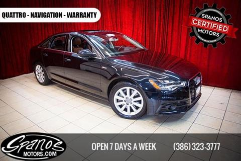 2012 audi a6 for sale in florida for Spanos motors daytona beach