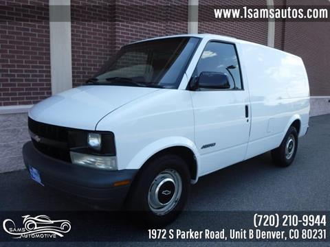 1999 Chevrolet Astro Cargo for sale in Denver, CO