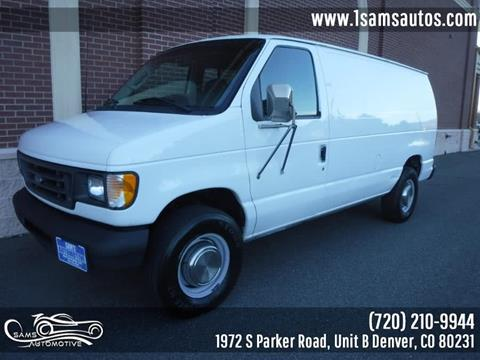 2003 Ford E-Series Cargo for sale in Denver, CO