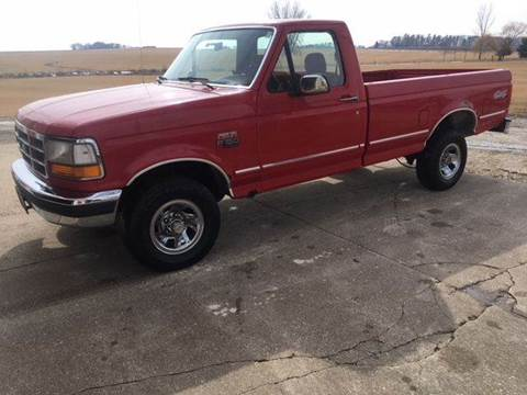 1992 Ford F-150 for sale at Dream Machines in Cedar Falls IA