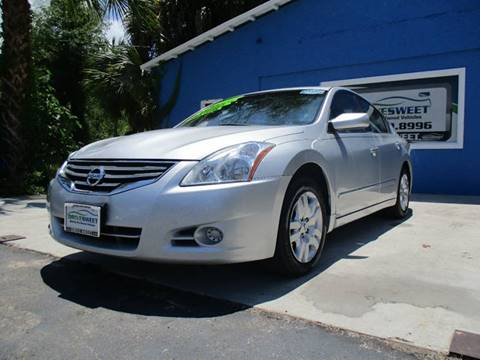 2012 Nissan Altima for sale at Drive Sweet LLC in Hernando FL