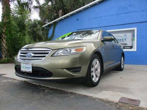 2012 Ford Taurus for sale at Drive Sweet LLC in Inverness FL