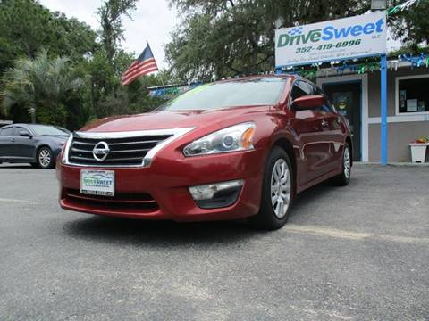 2015 Nissan Altima for sale at Drive Sweet LLC in Inverness FL