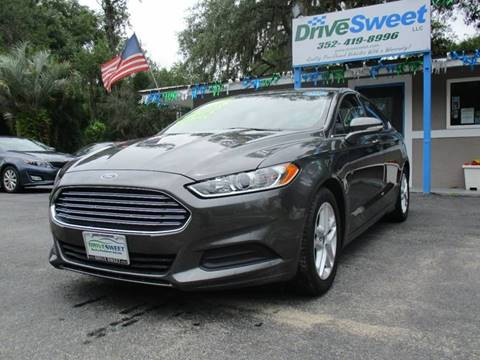 2016 Ford Fusion for sale at Drive Sweet LLC in Inverness FL