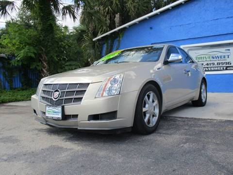 2009 Cadillac CTS for sale at Drive Sweet LLC in Inverness FL