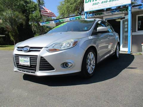 2012 Ford Focus for sale at Drive Sweet LLC in Hernando FL