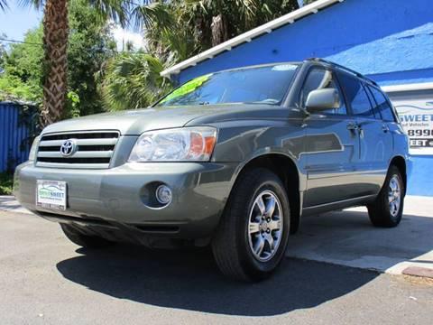 2006 Toyota Highlander for sale at Drive Sweet LLC in Hernando FL