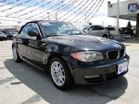 2010 BMW 1 Series for sale at I-80 Auto Sales in Hazel Crest IL