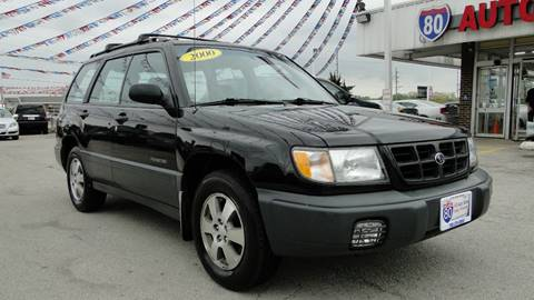 2000 Subaru Forester for sale at I-80 Auto Sales in Hazel Crest IL