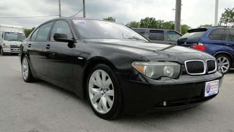 2003 BMW 7 Series for sale at I-80 Auto Sales in Hazel Crest IL
