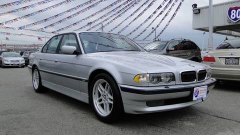 2001 BMW 7 Series for sale at I-80 Auto Sales in Hazel Crest IL