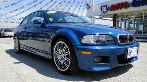 2002 BMW M3 for sale at I-80 Auto Sales in Hazel Crest IL