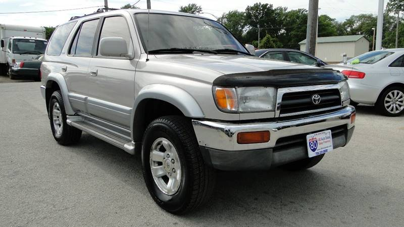 Perfect 1997 Toyota 4Runner For Sale At I 80 Auto Sales In Hazel Crest IL