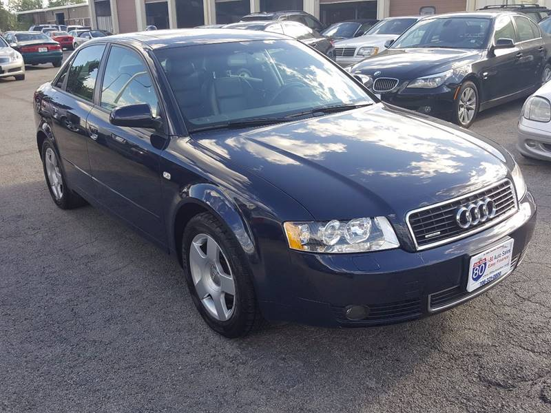 2004 audi a4 1 8t quattro in hazel crest il i 80 auto sales. Black Bedroom Furniture Sets. Home Design Ideas