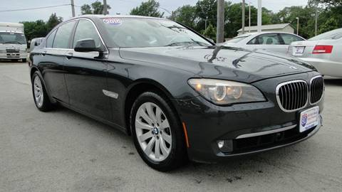 2010 BMW 7 Series for sale at I-80 Auto Sales in Hazel Crest IL