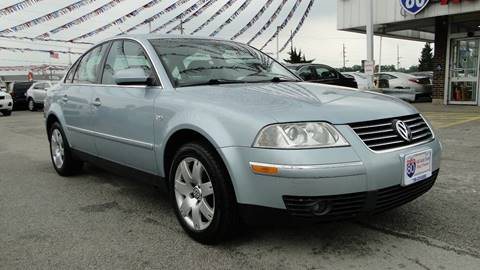 2001 Volkswagen Passat for sale at I-80 Auto Sales in Hazel Crest IL