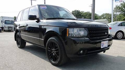 2010 Land Rover Range Rover for sale at I-80 Auto Sales in Hazel Crest IL