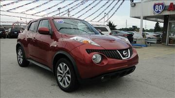 2012 Nissan JUKE for sale at I-80 Auto Sales in Hazel Crest IL