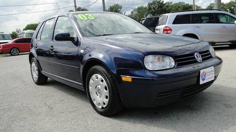 2003 Volkswagen Golf for sale at I-80 Auto Sales in Hazel Crest IL