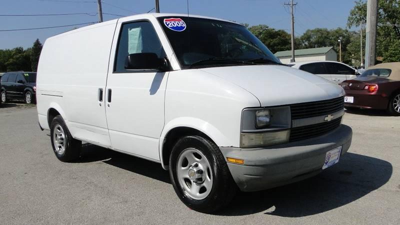 2005 Chevrolet Astro Cargo In Hazel Crest Il I 80 Auto Sales
