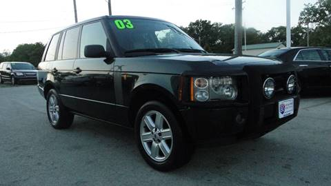 2003 Land Rover Range Rover for sale at I-80 Auto Sales in Hazel Crest IL