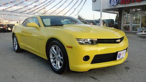 2015 Chevrolet Camaro for sale at I-80 Auto Sales in Hazel Crest IL