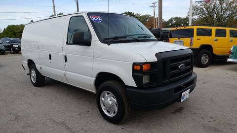 2012 Ford E-Series Cargo for sale at I-80 Auto Sales in Hazel Crest IL