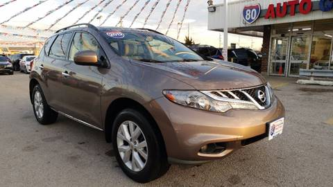 2012 Nissan Murano for sale at I-80 Auto Sales in Hazel Crest IL