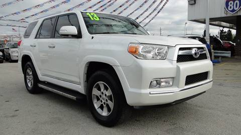 2013 Toyota 4Runner for sale at I-80 Auto Sales in Hazel Crest IL