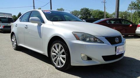 2006 Lexus IS 250 for sale at I-80 Auto Sales in Hazel Crest IL