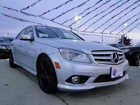 2010 Mercedes-Benz C-Class for sale at I-80 Auto Sales in Hazel Crest IL