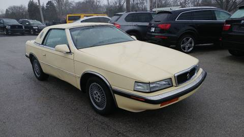1989 Chrysler TC for sale at I-80 Auto Sales in Hazel Crest IL
