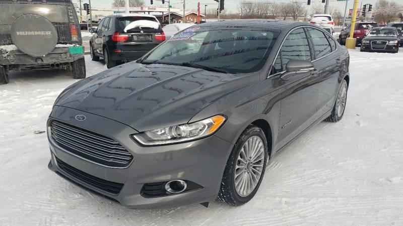 2014 ford fusion hybrid titanium in hazel crest il - i-80 auto sales