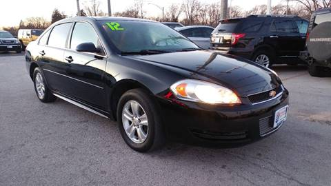 2012 Chevrolet Impala for sale at I-80 Auto Sales in Hazel Crest IL