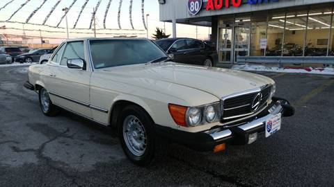 1984 Mercedes-Benz 380-Class for sale at I-80 Auto Sales in Hazel Crest IL
