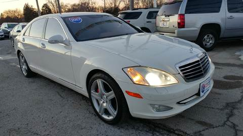 2007 Mercedes-Benz S-Class for sale at I-80 Auto Sales in Hazel Crest IL