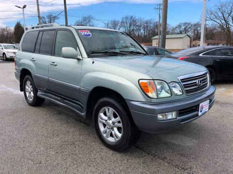 2004 Lexus LX 470 for sale at I-80 Auto Sales in Hazel Crest IL