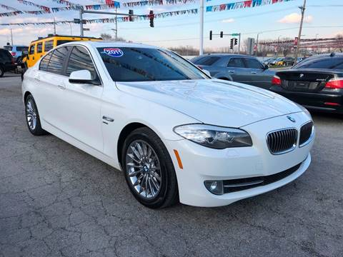 2011 BMW 5 Series for sale at I-80 Auto Sales in Hazel Crest IL
